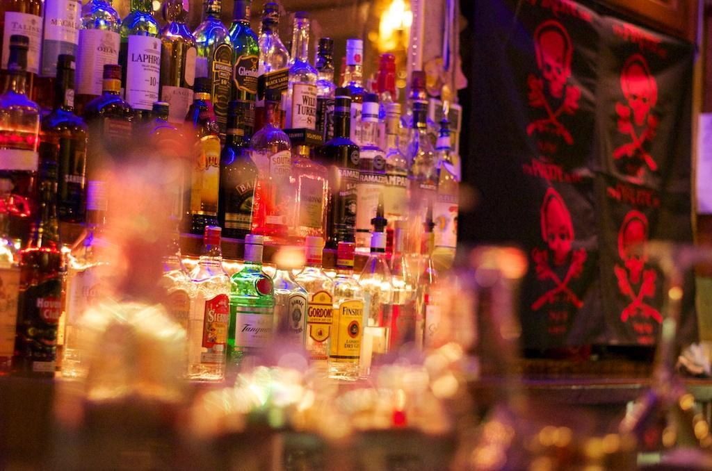 PB- bar and glass